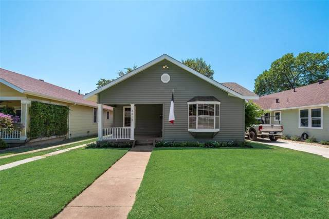 4813 Pershing Avenue, Fort Worth, TX 76107 (MLS #14401899) :: Real Estate By Design