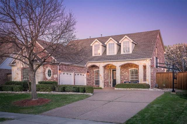 5100 Lake Creek Court, Frisco, TX 75035 (MLS #14401982) :: The Chad Smith Team