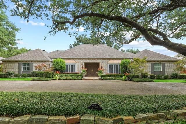 7123 Lupton Drive, Dallas, TX 75225 (MLS #14402115) :: The Heyl Group at Keller Williams