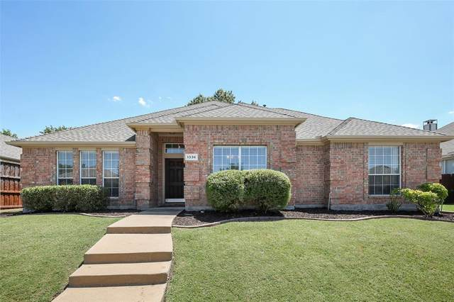 1336 Mustang Drive, Lewisville, TX 75067 (MLS #14402641) :: The Rhodes Team
