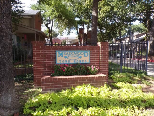 1448 Meadowood Village Drive, Fort Worth, TX 76120 (MLS #14402651) :: NewHomePrograms.com LLC