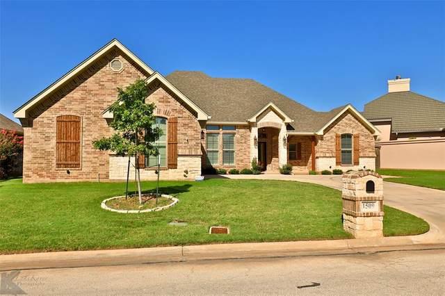 1509 Glen Eagles Court, Abilene, TX 79601 (MLS #14402660) :: The Heyl Group at Keller Williams