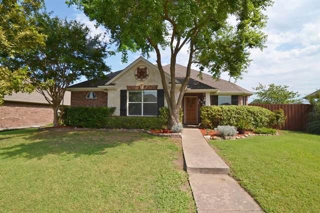 208 Shadybrook Drive, Wylie, TX 75098 (MLS #14402669) :: The Kimberly Davis Group