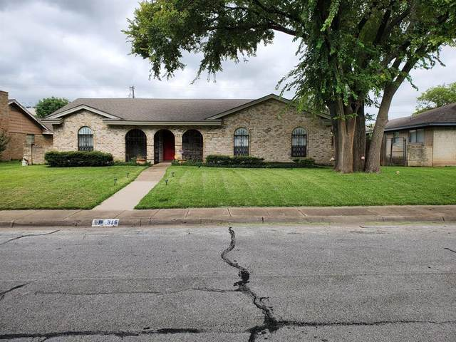 315 Brookwood Drive, Duncanville, TX 75116 (MLS #14402757) :: Hargrove Realty Group
