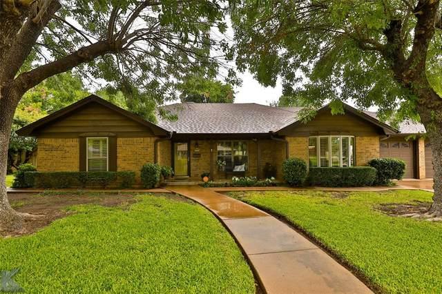 3018 Ricsan Road, Abilene, TX 79605 (MLS #14403034) :: The Heyl Group at Keller Williams