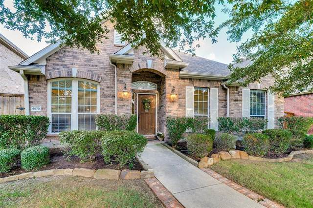 4670 Hearthstone Drive, Frisco, TX 75034 (MLS #14403036) :: Frankie Arthur Real Estate