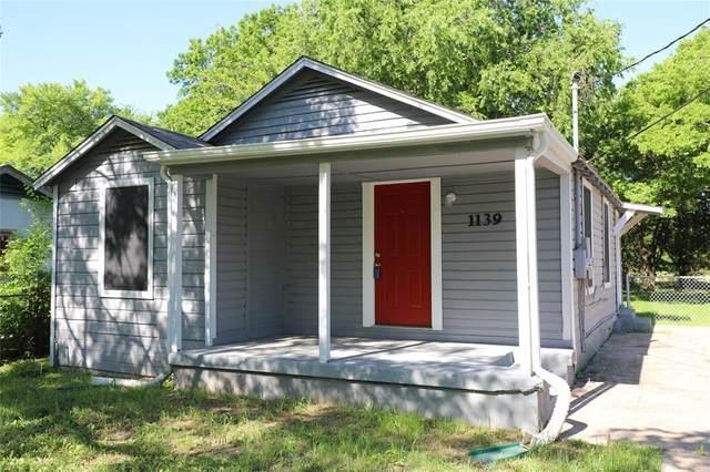 1139 Ridgewood Drive, Dallas, TX 75217 (MLS #14403450) :: Frankie Arthur Real Estate
