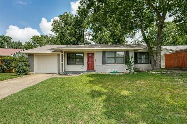 4628 Sandra Lynn Drive, Mesquite, TX 75150 (MLS #14403667) :: Frankie Arthur Real Estate