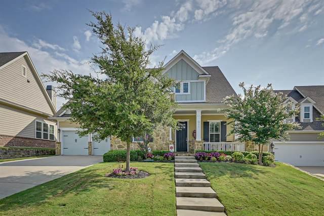 911 Mistletoe Drive, Lantana, TX 76226 (MLS #14403672) :: Maegan Brest | Keller Williams Realty