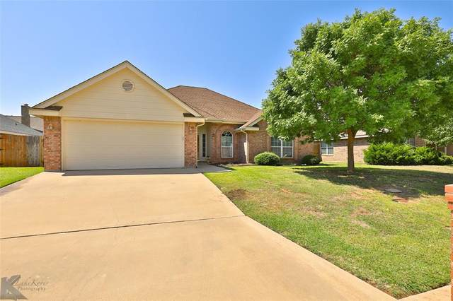 2241 Old Ironsides Road, Abilene, TX 79601 (MLS #14403692) :: The Mitchell Group