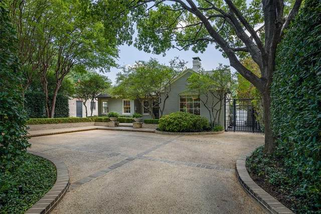 4669 Livingston Avenue, Highland Park, TX 75209 (MLS #14403709) :: Robbins Real Estate Group