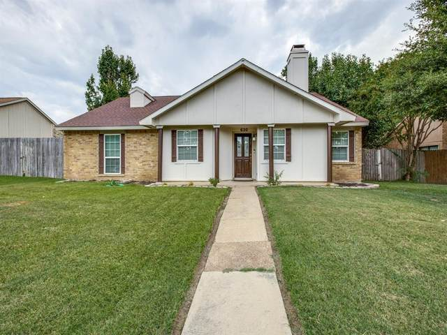 630 Beechwood Drive, Grand Prairie, TX 75052 (MLS #14403893) :: The Heyl Group at Keller Williams