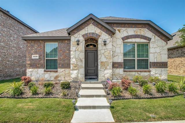 2172 Barx Drive, Little Elm, TX 75068 (MLS #14403977) :: The Heyl Group at Keller Williams