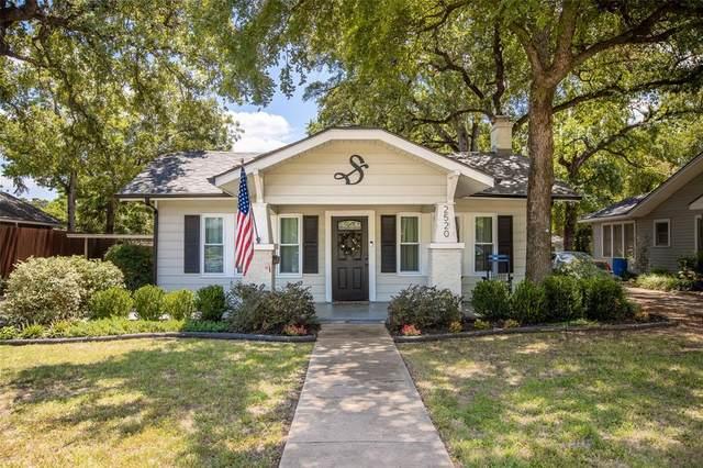 2520 Carnation Avenue, Fort Worth, TX 76111 (MLS #14404137) :: Frankie Arthur Real Estate