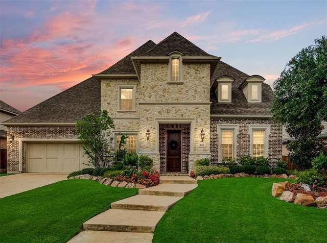 883 Grassy Shore Court, Allen, TX 75013 (MLS #14404217) :: The Kimberly Davis Group