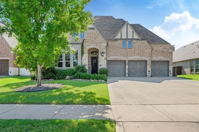 7804 Strathmill Drive, The Colony, TX 75056 (MLS #14404411) :: The Kimberly Davis Group