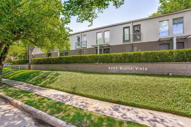 4242 Buena Vista Street #4, Dallas, TX 75205 (MLS #14404893) :: The Good Home Team