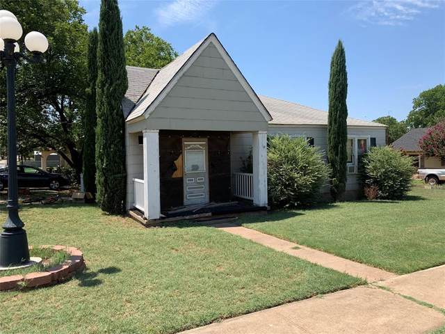 911 Thomas Street, Sweetwater, TX 79556 (MLS #14405157) :: The Heyl Group at Keller Williams