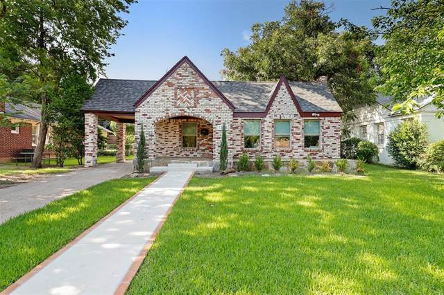 1134 Cascade Avenue, Dallas, TX 75224 (MLS #14405355) :: The Heyl Group at Keller Williams