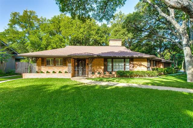 4300 Inwood Road, Fort Worth, TX 76109 (MLS #14405440) :: RE/MAX Landmark