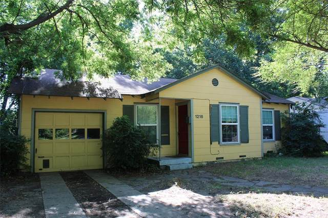 1216 Coit Street, Denton, TX 76201 (MLS #14405456) :: Trinity Premier Properties