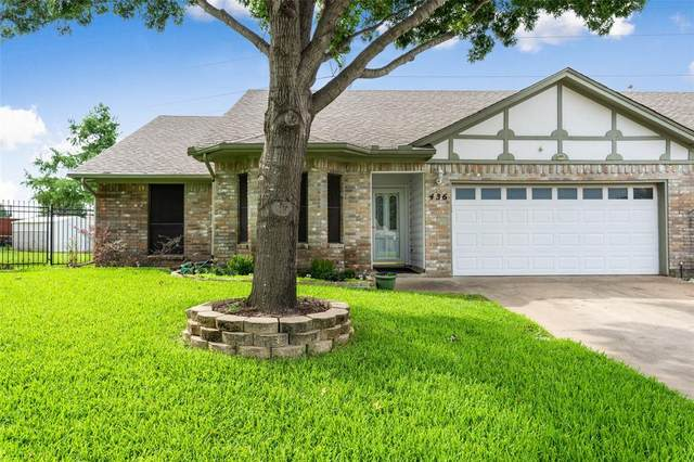 436 Sunnybrook Court, Bedford, TX 76021 (MLS #14405476) :: The Heyl Group at Keller Williams
