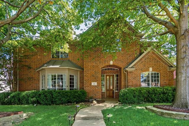 1121 Hampton Drive, Allen, TX 75013 (MLS #14405607) :: Tenesha Lusk Realty Group
