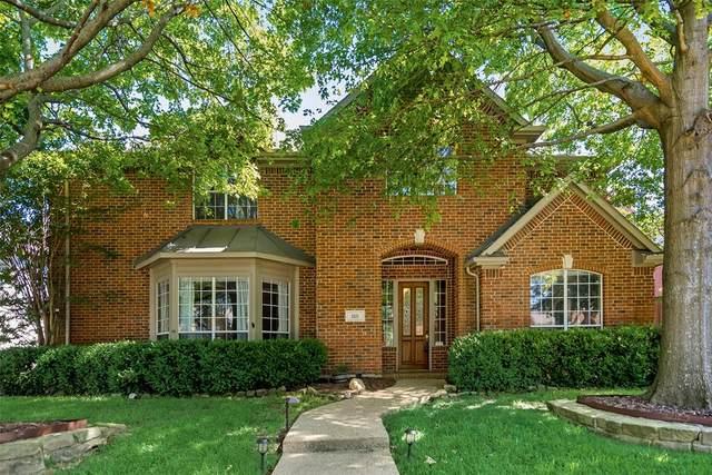 1121 Hampton Drive, Allen, TX 75013 (MLS #14405607) :: Maegan Brest | Keller Williams Realty