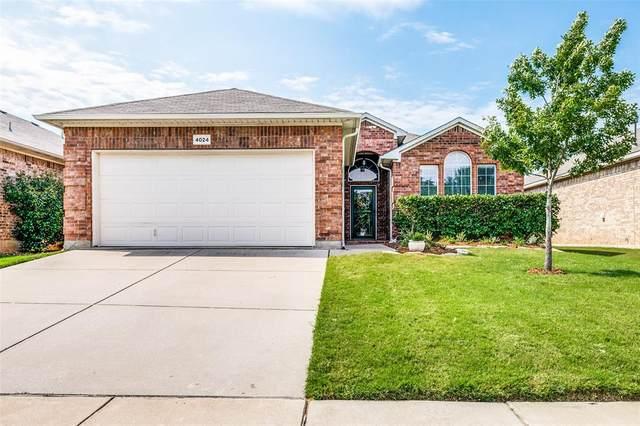 4024 Ellenboro Lane, Fort Worth, TX 76244 (MLS #14405628) :: The Kimberly Davis Group