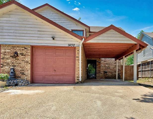 1432 Palmnold Circle E, Fort Worth, TX 76120 (MLS #14405717) :: The Chad Smith Team