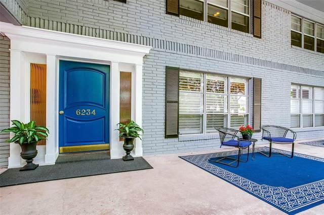6234 Bandera Avenue 6234C, Dallas, TX 75225 (MLS #14406056) :: The Heyl Group at Keller Williams