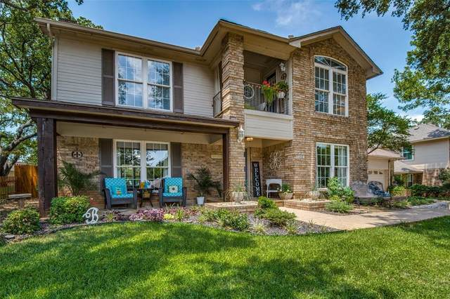 3624 Dorchester Drive, Bedford, TX 76021 (MLS #14406170) :: The Heyl Group at Keller Williams
