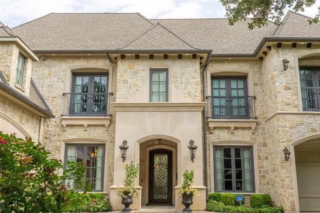 6823 Mimosa Lane, Dallas, TX 75230 (MLS #14406325) :: The Heyl Group at Keller Williams