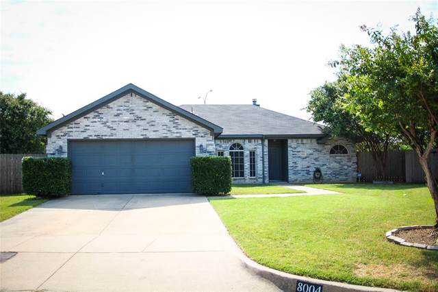 8004 Kathleen Court, Fort Worth, TX 76137 (MLS #14406424) :: The Heyl Group at Keller Williams