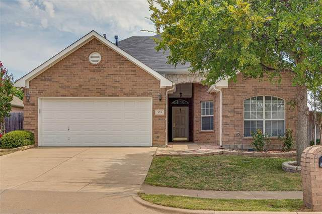 353 Mesquite Hill Drive, Arlington, TX 76002 (MLS #14406899) :: All Cities USA Realty