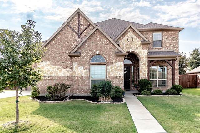 214 Trophy Trail, Forney, TX 75126 (MLS #14406983) :: The Mauelshagen Group
