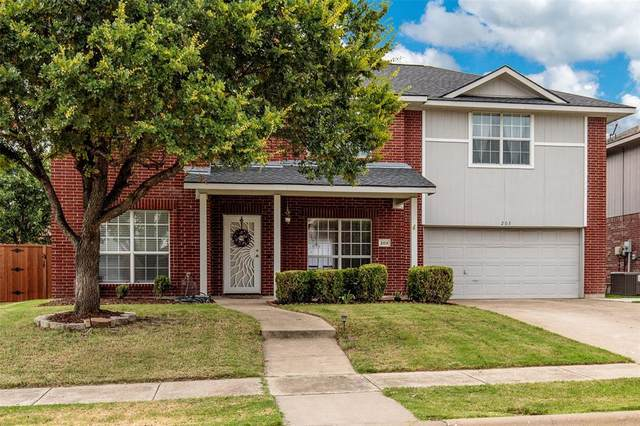 203 Terrace Drive, Wylie, TX 75098 (MLS #14407053) :: The Kimberly Davis Group
