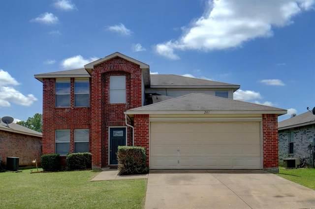 201 Crystalwood Drive, Mesquite, TX 75149 (MLS #14407081) :: Frankie Arthur Real Estate