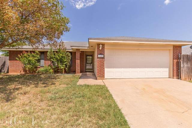 7609 Thompson Pkwy, Abilene, TX 79605 (MLS #14408185) :: Potts Realty Group