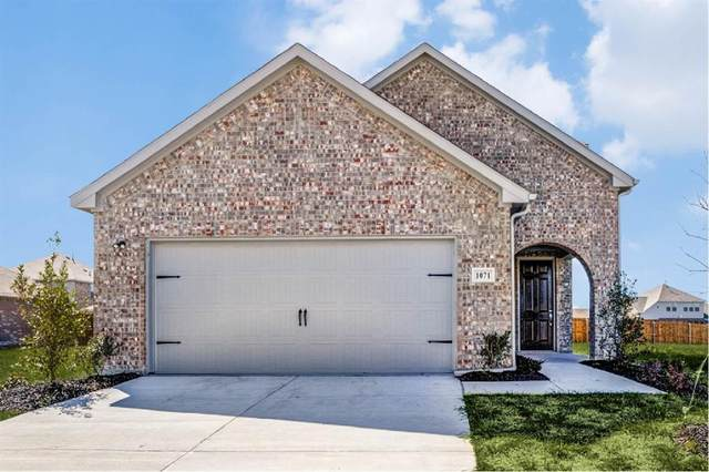 1056 Trickham Drive, Forney, TX 75126 (MLS #14408244) :: The Mauelshagen Group
