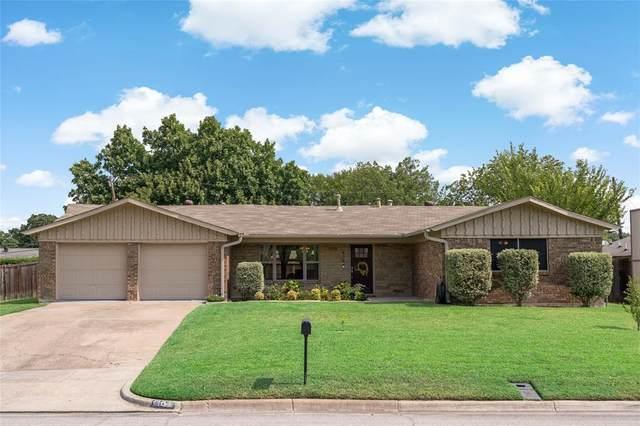 404 Glenwood Terrace, Hurst, TX 76053 (MLS #14408310) :: The Heyl Group at Keller Williams