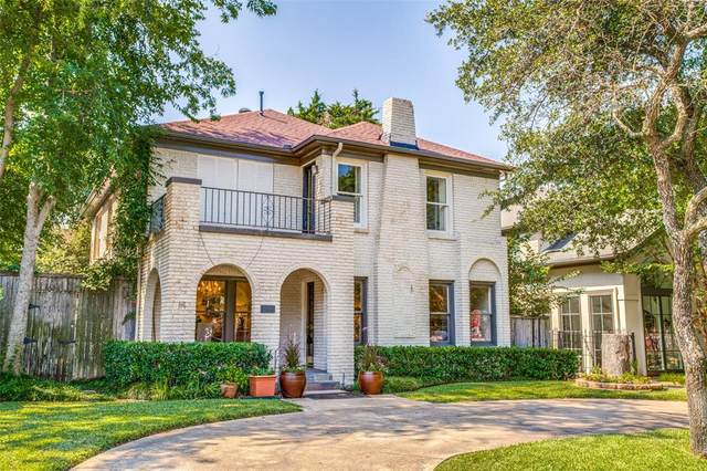 3443 Binkley Avenue, University Park, TX 75205 (MLS #14408408) :: The Kimberly Davis Group