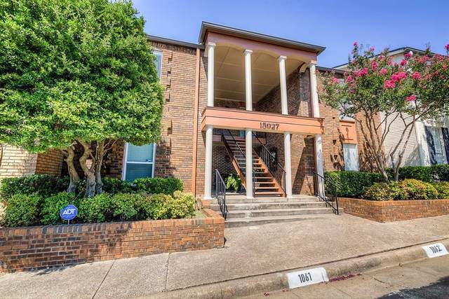 15927 Coolwood Drive #2062, Dallas, TX 75248 (MLS #14408539) :: EXIT Realty Elite