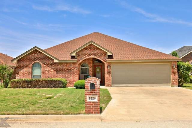 1226 Lewis & Clark Trail, Abilene, TX 79602 (MLS #14408745) :: Potts Realty Group