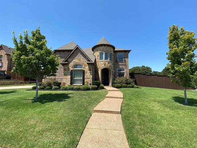 2107 Tuscany Drive, Corinth, TX 76210 (MLS #14408777) :: Maegan Brest | Keller Williams Realty