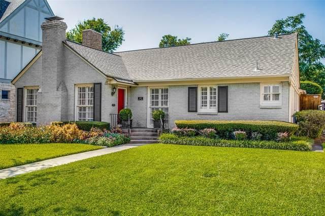 6438 Anita Street, Dallas, TX 75214 (MLS #14408849) :: Tenesha Lusk Realty Group