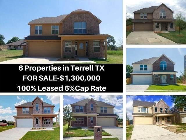 122 Brooks Street, Terrell, TX 75160 (MLS #14408895) :: The Mauelshagen Group