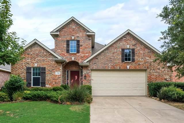 1708 Peregrine Drive, Corinth, TX 76210 (MLS #14409010) :: Team Hodnett