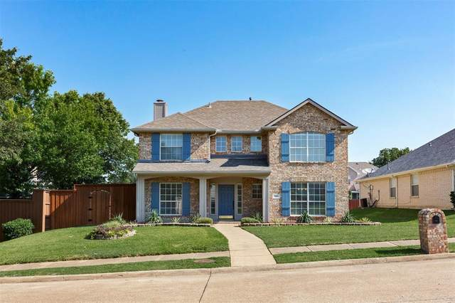 1456 Meadow Vista Drive, Carrollton, TX 75007 (MLS #14409416) :: The Good Home Team