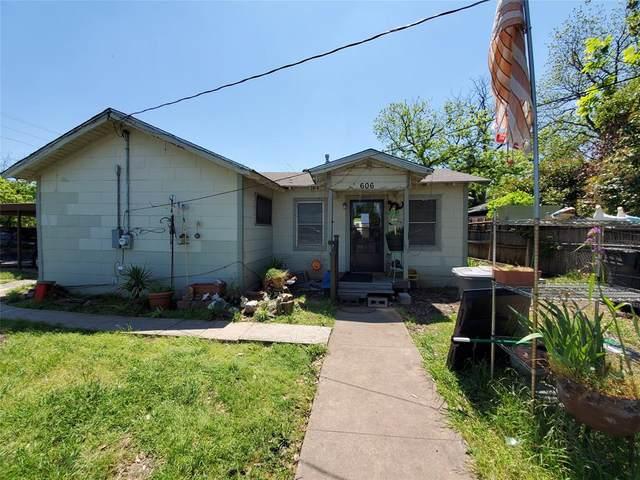 606 W 12th Street, Dallas, TX 75208 (MLS #14409451) :: The Good Home Team